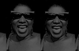 Aretha Franklin by Michel Haddi
