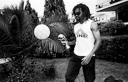 Christian Karembeu by Michel Haddi